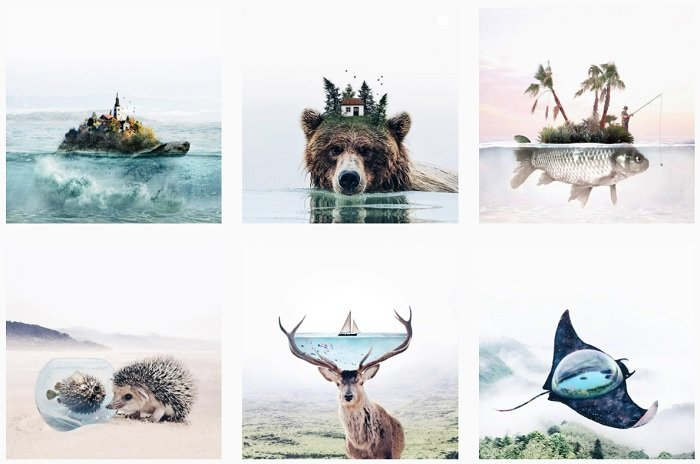 Luisa Azevedo Instagram Collection of fantasy photographs