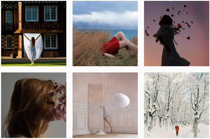 Maia Flore Instagram Collection of fantasy photographs