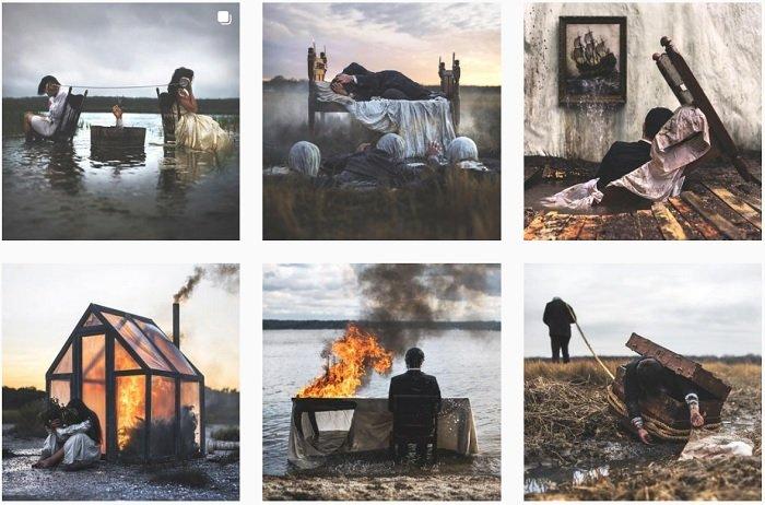 Nicolas Bruno Instagram Collection of fantasy photographs