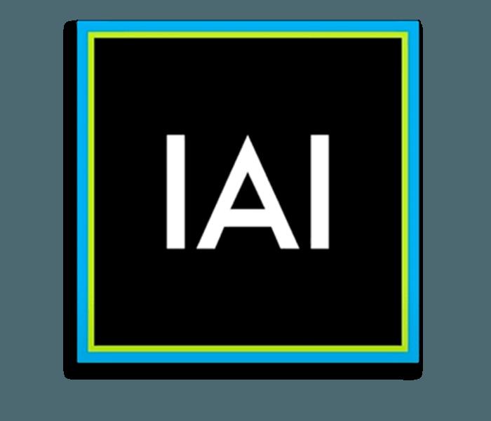 ImagenAI Logo with drop shadow