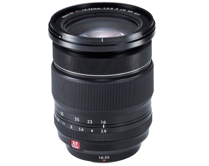 Fujifilm XF 16-55mm f/2.8 R LM WR lens for landscape photography