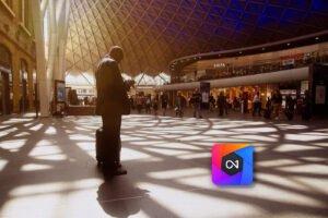 train station shadows ON1 edit