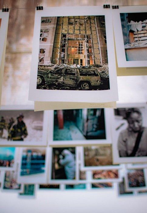 photographs of first responder scenes for portfolio examples