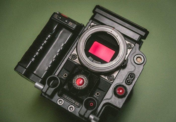 Dragon 6K camera sensor