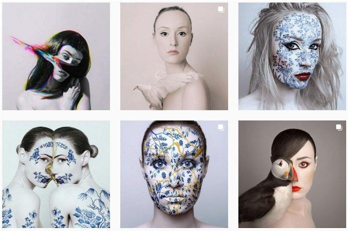2021 best self portrait photographers flora borsi