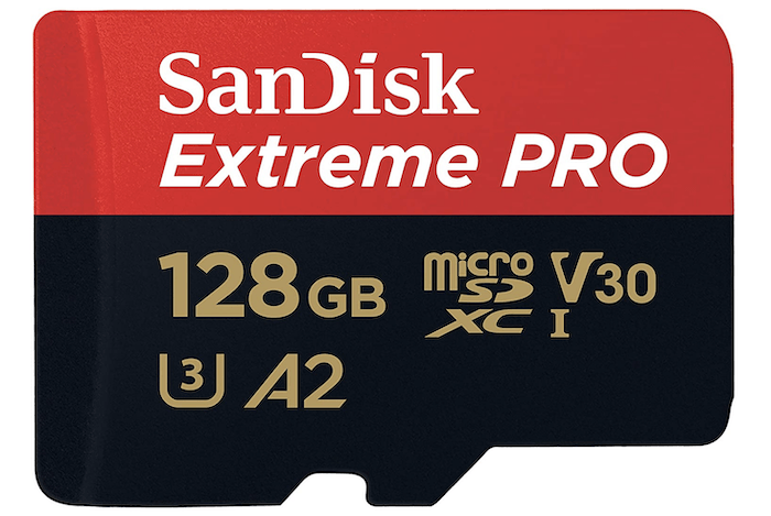 Sandisk Extreme Pro 128GBmicro SD card