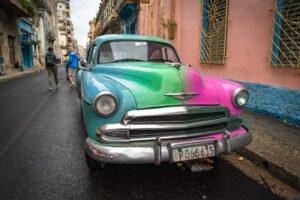 Vintage Car Tri-tone color replacement