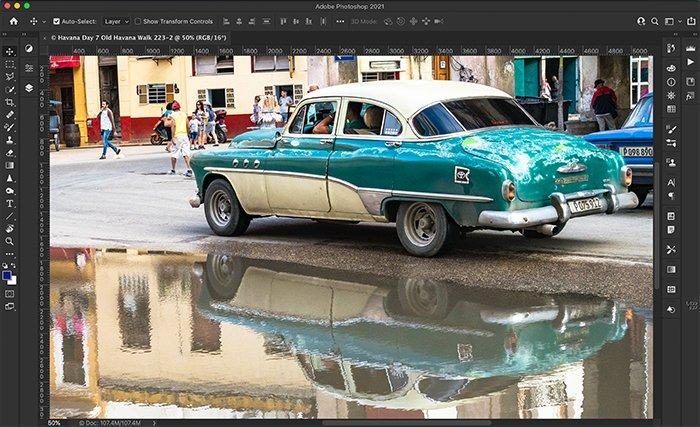 vintage car original color